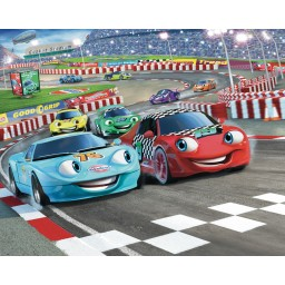 3D Fototapeta Car Racer Artwork - Auta