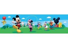 WBD 8069 AG Design Samolepicí bordura Mickey Mouse Club House, velikost 14 cm x 5 m